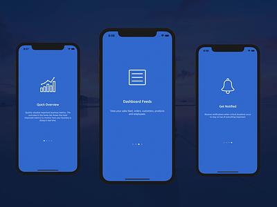 Onboarding Walkthrough Flow in Swift login mobile templates template mobile tutorial nux swift ios walkthrough onboarding