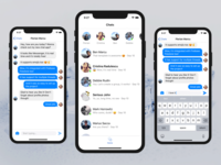 Swift iOS Chat App Template