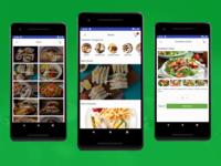 Android Restaurant App Design Template