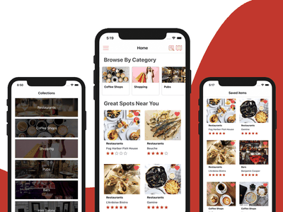 Universal Store Locator iOS App Template marketplace classifieds readymade iphone swift storefront store locator firebase mobile templates