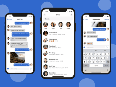 React Native Chat App Template UI Kit mobile templates mobile app templates app template facebook messenger whatsapp snapchat photo messaging app messaging app messenger app messenger chat app chat