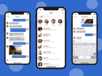React Native Chat App Template UI Kit