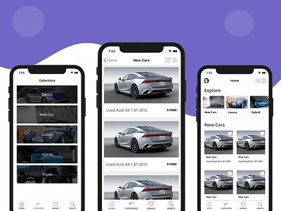 Car Dealer iOS App Template - Design classifieds marketplaces car app dealer dealership template firebase swift mobile templates
