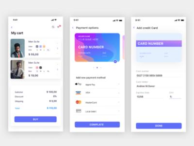 iOS App Templates | Dribbble