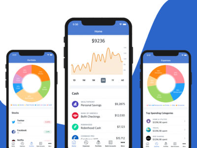 iOS Finance App Template