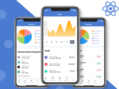 Mobile Finance UI Kit