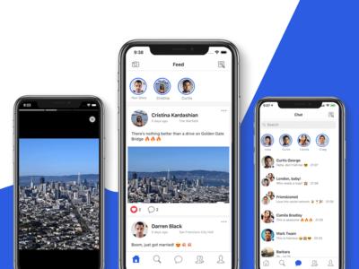 Facebook Clone React Native uikit android ios mobile react native facebook