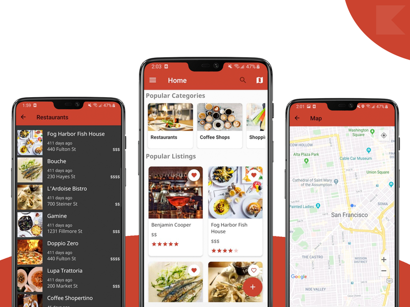 Store Locator Android App Template android templates kotlin android app design android app development android app android