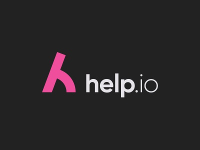 Help.io Brand Design Proposal branding design brand design logomark logodesign logotype logos design symbol lettering branding logo design logo letter h