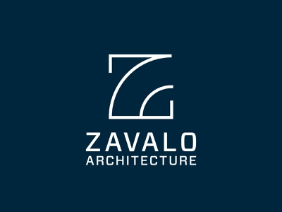 Zavalo Architecture Logo Design branding agency branding design architecture design logomark logodesign logotype logos design branding symbol logo design logo architecture architects architect