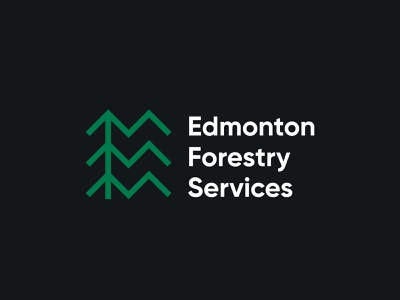 Edmonton Forestry Services Logo Design logomark canada logotype logos branding symbol logo design forest logo trees tree design logo logodesign edmonton forest