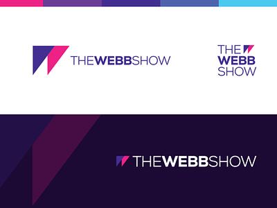 The Webb Show Podcast branding design logomark branding agency brand design symbol podcast logo logo design logodesign logotype logos design branding web w logo podcast