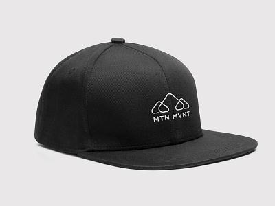 MTN MVNT (MVMT) Brand Concept logomark branding design brand design minimal mountain m logotype design branding symbol logo design logo
