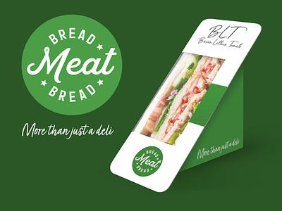 Bread Meat Bread Sandwich Deli Branding brand design logomark logodesign logos logotype design branding symbol logo design logo