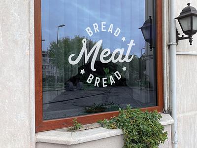 bread meat bread window design brand design logomark logodesign logos logotype design branding symbol logo design logo