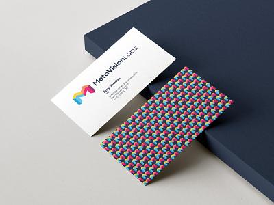 MetaVision Labs Branding symbol brand design logomark logos logodesign identity businesscard design branding logo design logo