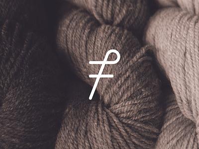 7friends Knitting Studio Logo Design brand design logomark logodesign logotype logos branding design knitting symbol logo design logo
