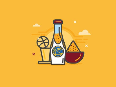 Curry san francisco debut dribbble hello spices nba finals curry