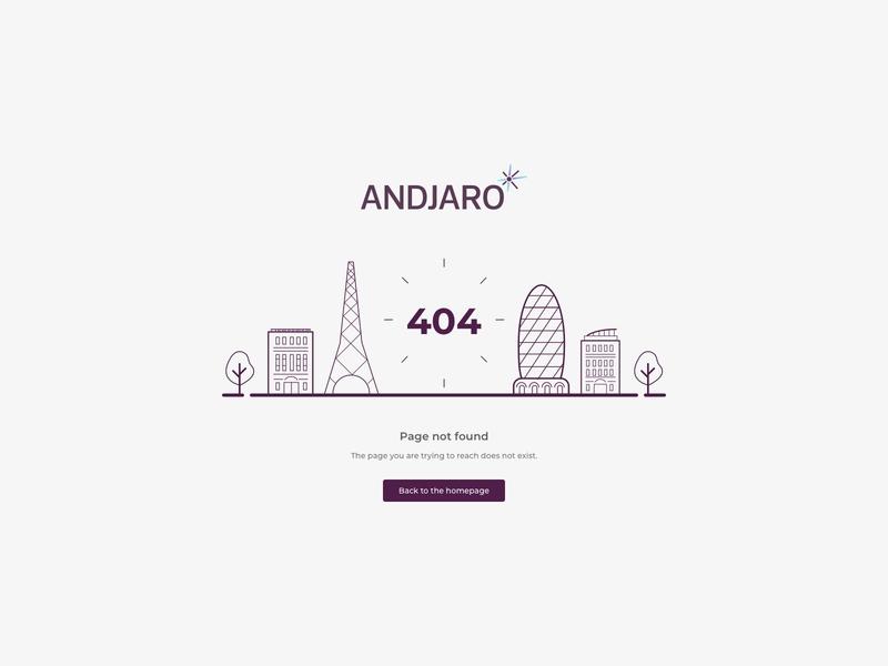 Andjaro - Error 404 sketch error 404 error page error 404 illustration andjaro