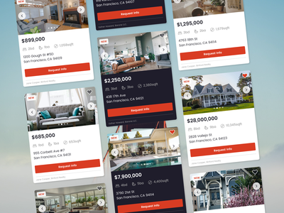 Daily UI 045 - Info Card real estate home buying info card card ui cards ui cards card dailyui045 dailyui ui design