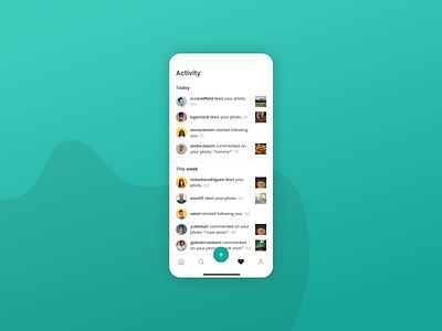 Daily UI 047 - Activity Feed feed activity feed activity mobile design mobile app mobile ui mobile dailyui047 dailyui figma app ui design