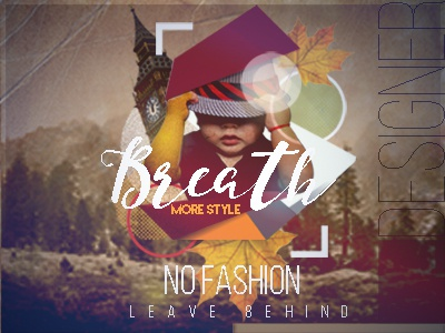 Poster no fashion for dribble a