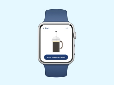 Apple watch concept hello thinking dribble concept minmaldesign app watchos uiux applewatch task management