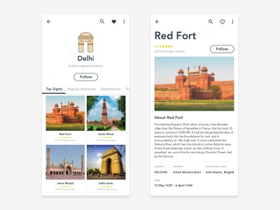 Delhi Information thinking graphics icon ui ux infomation in browser typography minmaldesign hello design concept app illustration dribblers dribble