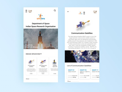 Isro App Concept: Figma hands on Leaning thinking app hello typography infomation figma isro design concept minmaldesign dribblers