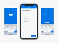 Tasks app