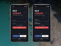 Book Cheap Flight Concept UI - Fly Cheap [1]