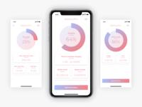 Battery Pro Concept App UI