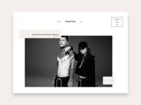 Fashion Home Page Shot