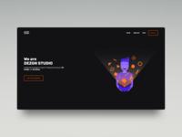 DEZGN STUDIO Home Page Shot
