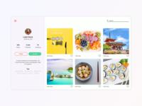 Daily UI - Profile Page