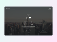 Daily UI - The Weather