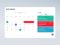 Daily UI - Event Calendar