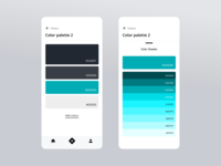 Daily UI - Colours or Colors