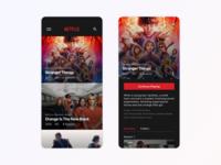Daily UI - Netflix & Chill