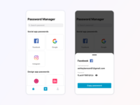 Daily UI - Gather the Passwords