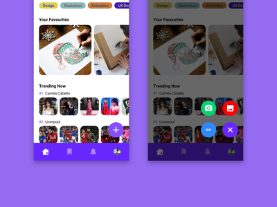 Rounded Pop Out Menu [2] pop out usability user experience menu design rounded menu interaction clean minimal inspiration concept app ux design ui ux ui design design