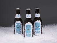 White Yeti Beer Label