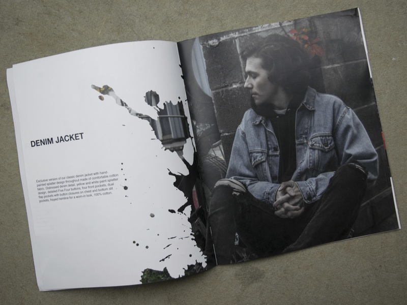 Lookbook photgraphy spreads design lookbook print design print