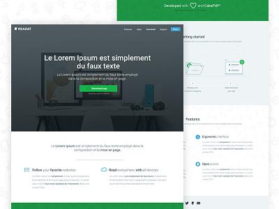 App website open source readat website app