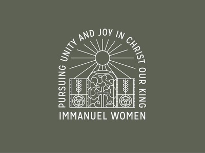 Immanuel Women's Shirt Design baptist new orleans tshirt vines cross sun jesus christ jesus christ sbc church church design shirt design joy immunity womens ministry women community immanuel