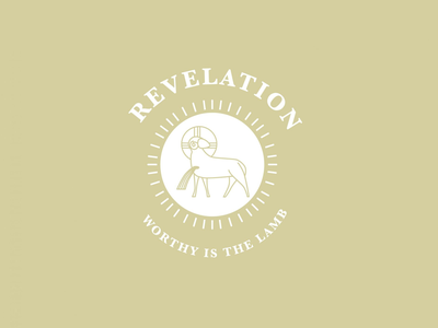 Revelation Series illustration baptist biblical jesus slain lamb church immanuel sermon series bible revelation