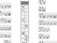Adobe Tool Icons