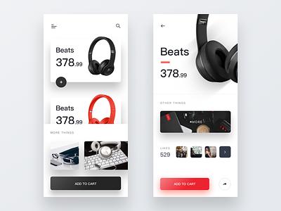 Headphone tamarashvili store shop product landing headphones earphone giga e-commerce