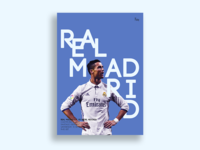 Real Madrid Match Day Poster