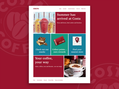 Costa Coffee UI